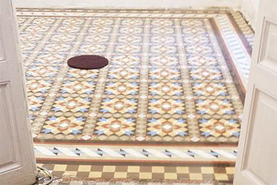 Pulido de suelo Mosaico de Nolla